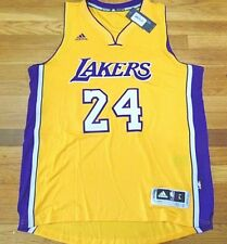 ADIDAS NBA LOS ANGELES LAKERS KOBE BRYANT GOLD HOME SWINGMAN JERSEY SIZE L 2494d6777