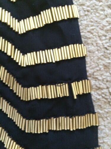 Gonna di Small Gold perline S con paillettes B Arden Black P5vqUU