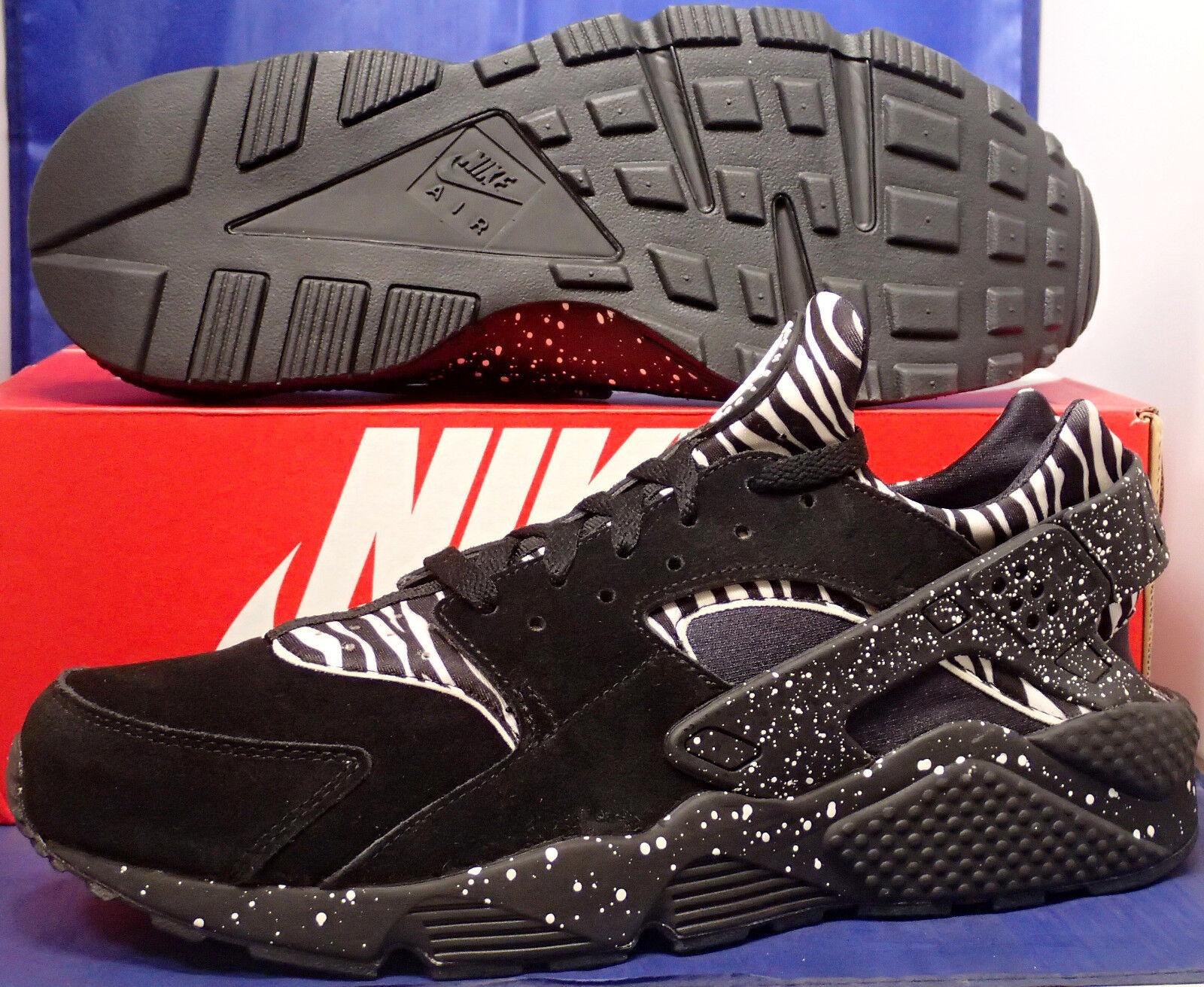 3bd25ae0871c Nike Air Huarache Run iD Black White Zebra Print SZ 13 ( 777330-998 ...