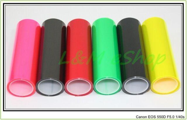 Car Light film Sticker Vinyl Headlight Taillight Transparent Different Colours