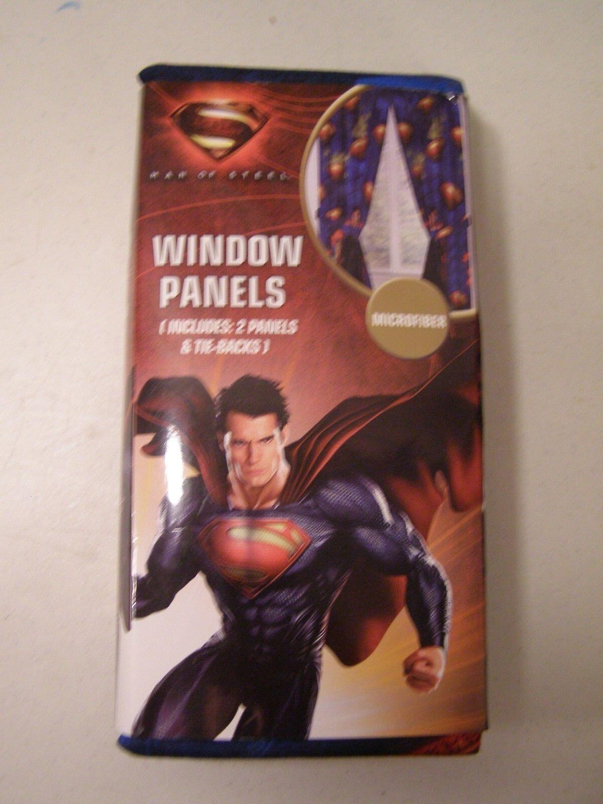 Superman Man of Steel Jay Franco Franco Franco and Sons Window Panels 0516b8