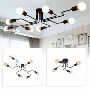 4-6-8-Way-Metal-Pendant-Light-Vintage-Industrial-Ceiling-Lights-Modern-Lighting