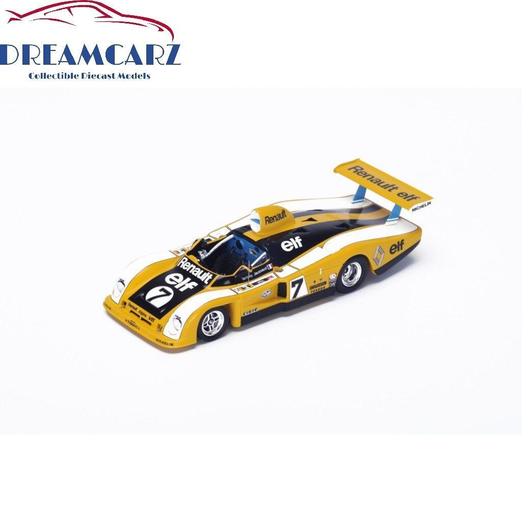 Spark S1553 1 43 Renault-Alpine A442 Le Mans 1977