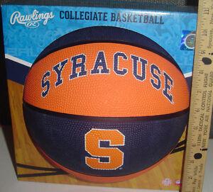 Ncaa Su Syracuse University Orange Full Size Basketball Rawlings