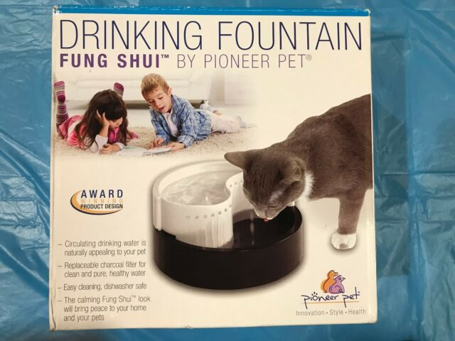 Pioneer Pet Plastic Drinking Fountain Fung Shui Dog Cat Ebay