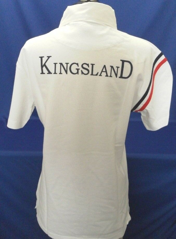 Men's Show Shirts by Kingsland Equestrian in White in XL and XXL