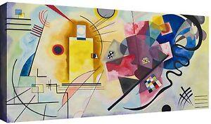 Quadro-Moderno-cm-120x60-Stampa-su-Tela-Quadri-Moderni-Kandinsky-Astratti-Cucina