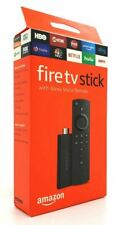 Genuine Amazon Fire TV Stick (2nd Generation) With Alexa Voice Remote Black 2019