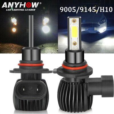 200W 20000LM CREE LED 6000K White Fog Light Conversion Kit Bulbs H10 9145 A