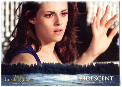 C1650 Iridescent #40 Twilight Breaking Dawn Part 2 Neca 2012 Trade Card