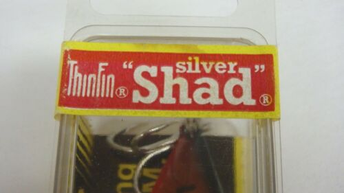 Storm ThinFin Silver Shad Pre Rapala Fishing Lure AT37 RED LABEL