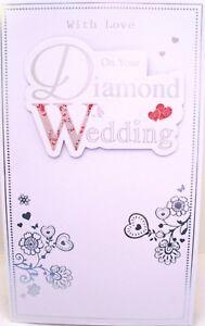 Traditional-Modern-034-ON-YOUR-DIAMOND-WEDDING-ANNIVERSARY-034-Card