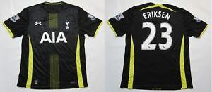 official photos 2807d 520bd Details about Christian Eriksen TOTTENHAM HOTSPUR shirt jersey Under Armour  2014-2015 adult L