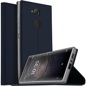 reputable site 8dd36 804fb Details about Sony Xperia L2 Flip Cover Phone Flip
