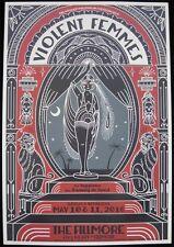 Violent Femmes **RARE** 5/10/16 Fillmore Concert Tour Poster - F1412 - punk pop