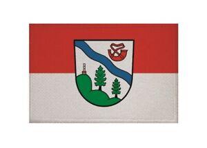 Aufnäher Grün Nein Danke Fahne Flagge Aufbügler Patch 9 x 6 cm