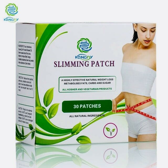 Lose Weight Kongdy Herbal Navel 30 Pieces Box Slimming Products To Burn Fat