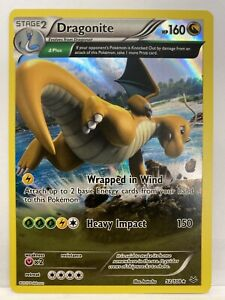 Dragonite-52-108-Holo-Rare-XY-Roaring-Skies-Pokemon-Card-NM