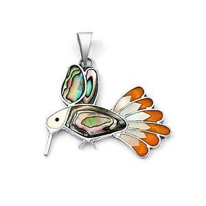 Taxco Silver Jewelry HUMMINGBIRD OPAL NECKLACE