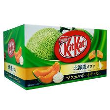 Nestles Kit Kat Japan RARE kitkats Japan HOKKAIDO MELON flavor 3P mini BY 10
