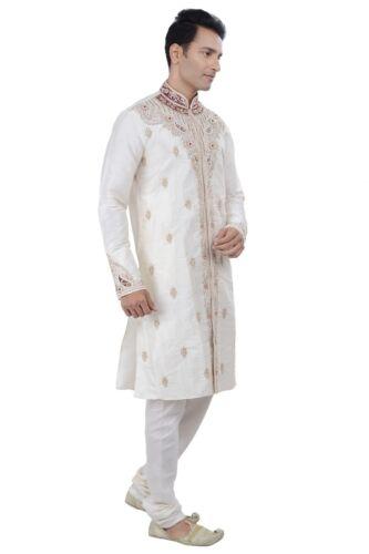 Worldwide Postage Ethnic Indian Design Bollywood Men Kurta Sherwani 2pc Suit