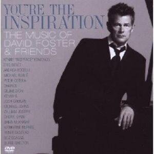 DAVID-FOSTER-YOU-039-RE-THE-INSPIRATION-CD-DVD-POP-NEW