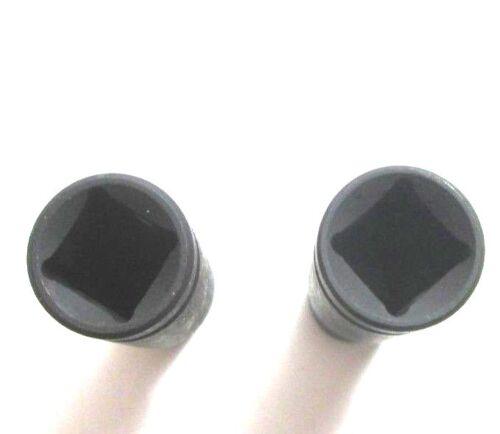 Unidad de impacto profundo zócalos de 1//2 pulgadas 10mm y 13mm 6 punto único hexagonal 3371