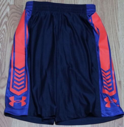 1260242 408 UNDER ARMOUR UA DISRUPTOR MEN BASKETBALL SHORT,SIZE S  BLUE//OR NWT
