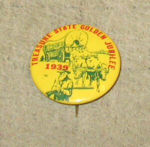 1939-MONTANA-Treasure-State-Golden-Jubilee-1-amp-1-4-034-Diameter-Pinback-Button