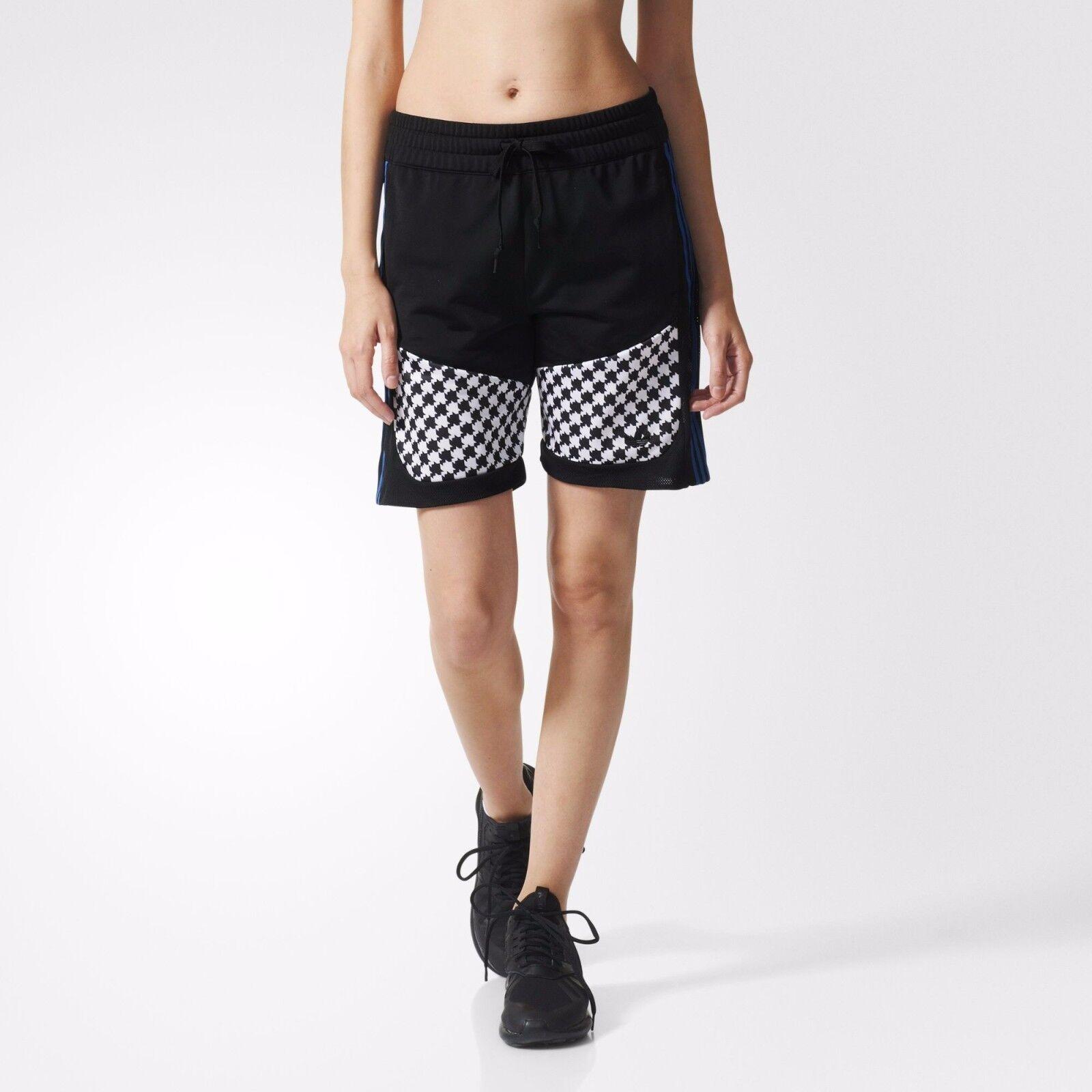 a8e650f305ad Womens adidas Originals Soccer Shorts in Black-ribbed Waist-external 6  AJ8602BLK163