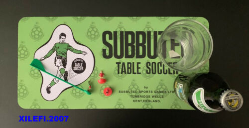 SUBBUTEO TABLE SOCCER BAR RUNNER LOOK VINTAGE PUB CLUB HOME BAR RUNNER SUBBUTEO