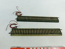At733-0, 5# 2x Märklin/Marklin modello Binario h0/ac 3900 porta poiché proprio binario