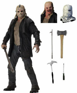 Friday-the-13th-2009-Movie-Jason-Voorhees-Ultimate-7-034-Action-Figure-NECA