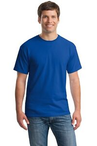Gildan-Heavy-Cotton-T-Shirts-5-3oz-Blank-Solid-Mens-Short-Sleeve-Tee-S-3XL-5000