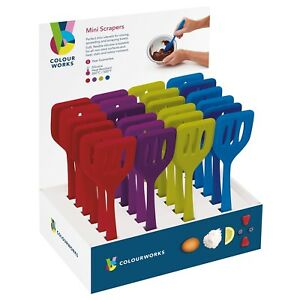 Colourworks-kitchencraft-Assorted-Coloured-Mini-Turners-20cm