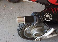 HONDA XR50 OR CRF50 EASY INSTALL URBAN ASSAULT SLIP IN EXHAUST SILENCER MUFFLER