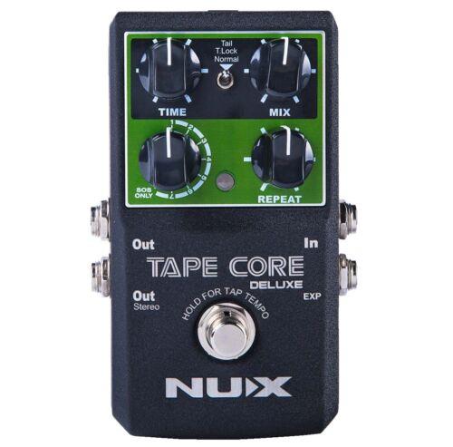 NUX Tape Core Deluxe Gitarren-Effektgerät Delay Pedal mit Looper Funktion