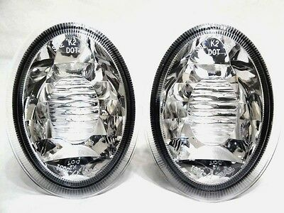 Pair of Rear Back-Up Backup Lights Lamps Replacement for Pontiac 22643660