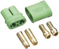 Castle Creations 4mm Polarized Bullet Conn Male Set Cas7500