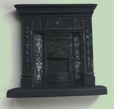 Resin Fireplace (RF2), Dolls House Miniature, Fireplace