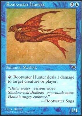 4x Rootwater Hunter MTG Tempest NM Magic Regular