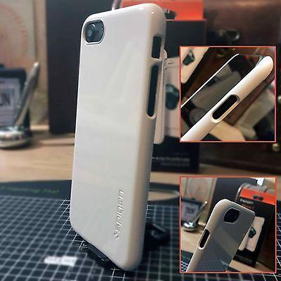 Fornitura Apple Iphone 8 Case Ad Alto Impatto Spostamento Shell Bianco Spedizione Gratuita-