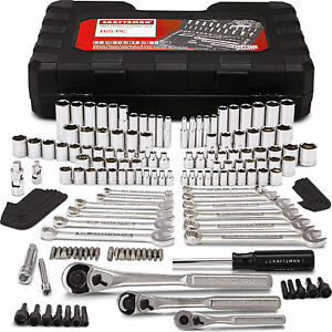 Craftsman 165 pc. Mechanics Tool Set Standard Metric Socket Ratchet