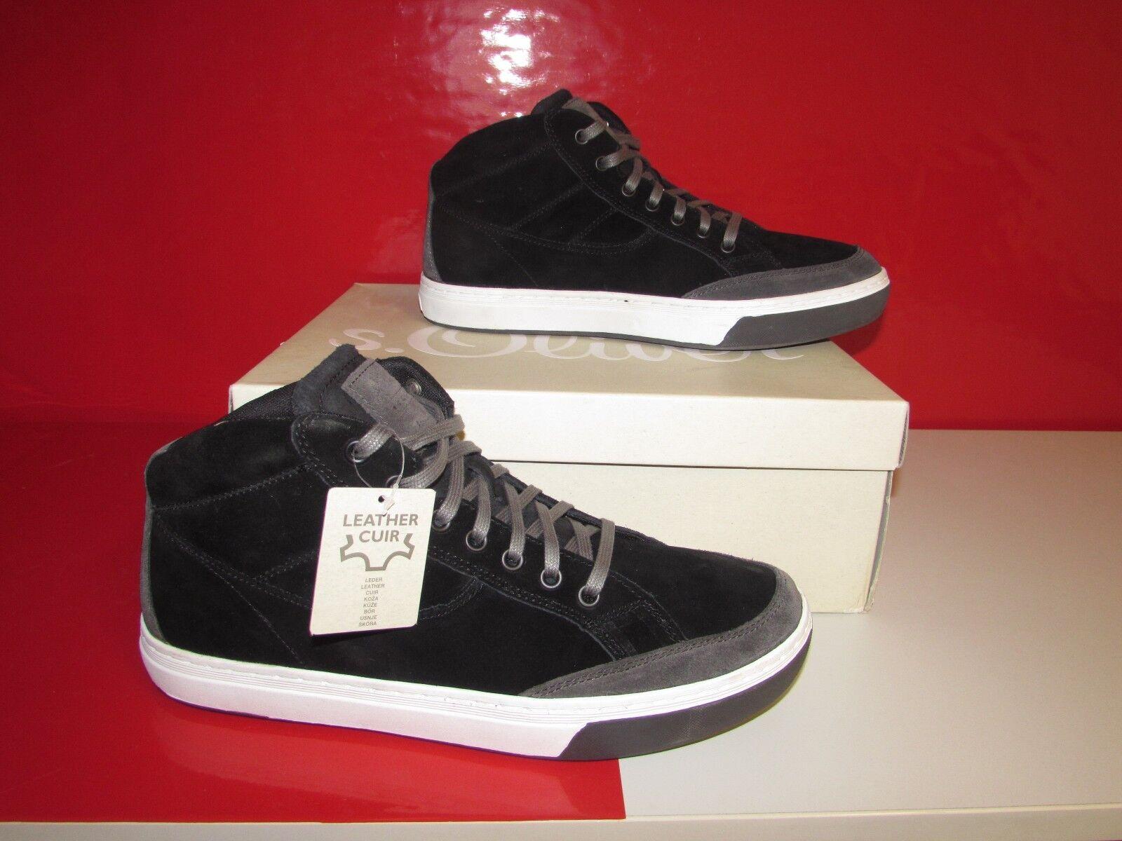 s.Oliver Casual 5-5-15206-21, Herren Sneaker, Schwarz (BLACK 001), EU 45