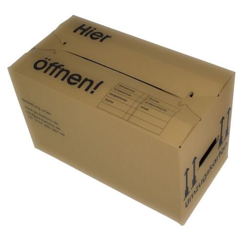 AS20004 EXTRA STARK 45 Kg 2-WELLIG 65 Umzugskartons Umzug-Kartons Karton