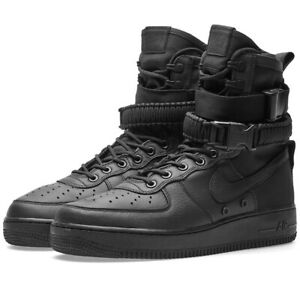 Women's Nike SF Air Force 1 High Triple Black