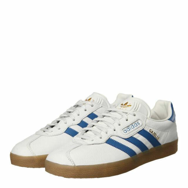 Size 7 - adidas Gazelle Super White Trace Blue