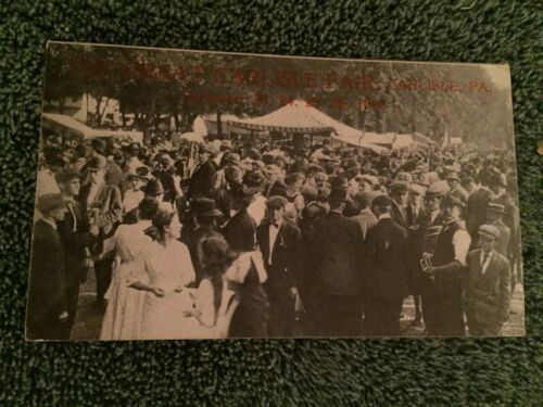 1913 The Great Carlisle Fair Carlisle Pennsylvania PA Postcard ID#528