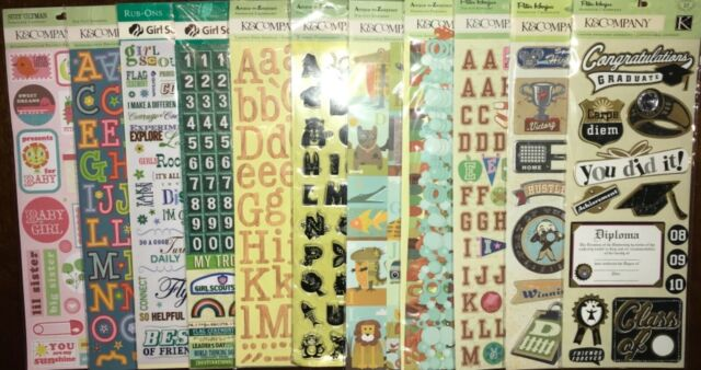 Boy Scouts Of America 3D Scrapbook Stickers Adhesive Chipboard K/&Company NEW