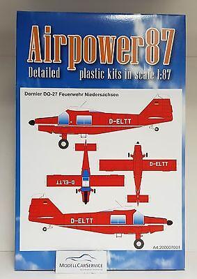 "Perseverando Airpower87 (h0): 200007001 Dornier Do-27 "" Pompieri Bassa Sassonia"